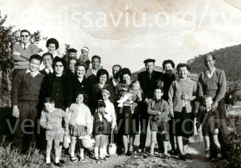 Anar a berenar per Pasqua (Llocnou, 1964)