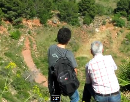 L'ecomuseu comença a planificar la regeneració d'una antiga pedrera a Castellonet